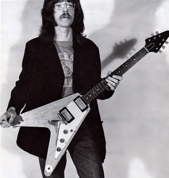 Billy Stapleton with Flying V