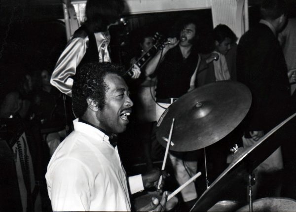 Francis Clay on the drums
