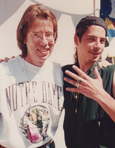 Billy and Chris Cornell